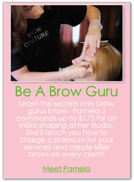 eyebrow waxing classes near me